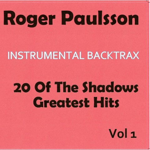 ROGER PAULSSON - INSTRUMENTAL BACKTRAX VOL 1 - CD  WITH TABS