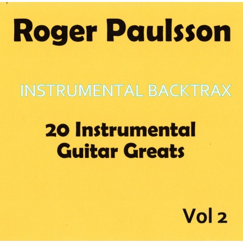 ROGER PAULSSON - INSTRUMENTAL BACKTRAX VOL 2 - CD WITH TABS
