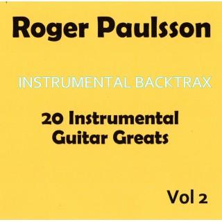 ROGER PAULSSON - INSTRUMENTAL BACKTRAX VOL 2 - CD