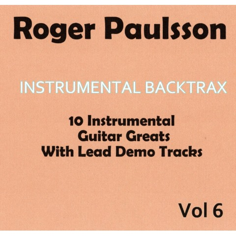 ROGER PAULSSON - INSTRUMENTAL BACKTRAX VOL 6 - CD WITH TABS