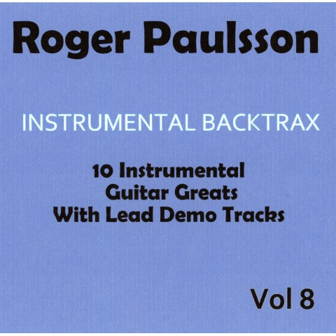 ROGER PAULSSON - INSTRUMENTAL BACKTRAX VOL 8 - CD WITH TABS