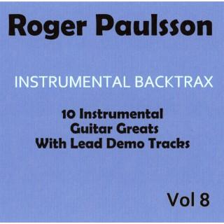 ROGER PAULSSON - INSTRUMENTAL BACKTRAX VOL 8 - CD