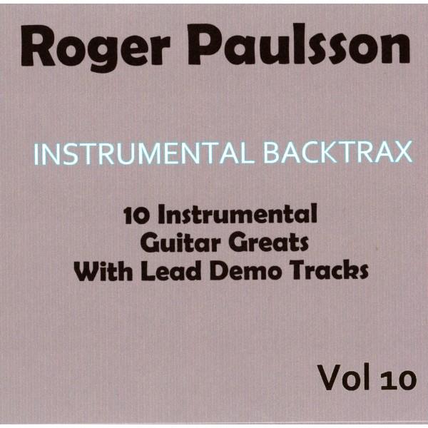 ROGER PAULSSON - INSTRUMENTAL BACKTRAX VOL 10 - CD