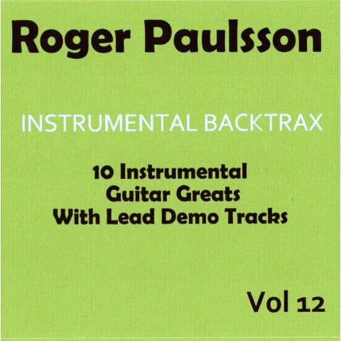 ROGER PAULSSON - INSTRUMENTAL BACKTRAX VOL 12 - CD WITH TABS