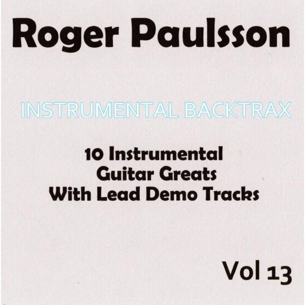ROGER PAULSSON - INSTRUMENTAL BACKTRAX VOL 13 - CD
