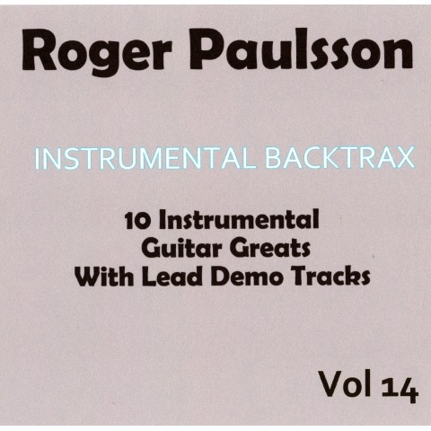 ROGER PAULSSON - INSTRUMENTAL BACKTRAX VOL 14 - CD BACKING TRACK