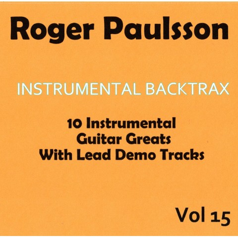 ROGER PAULSSON - INSTRUMENTAL BACKTRAX VOL 15 - CD WITH TABS
