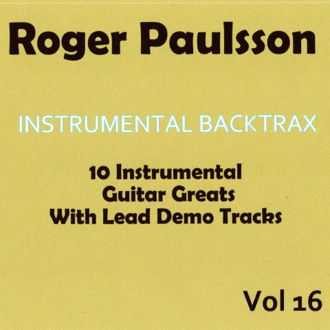 ROGER PAULSSON - INSTRUMENTAL BACKTRAX VOL 16 - CD WITH TABS