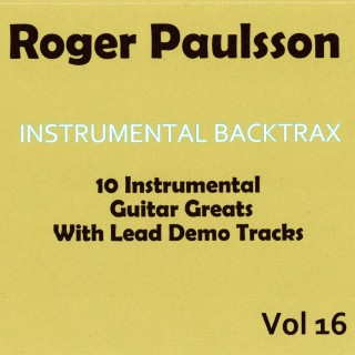 ROGER PAULSSON - INSTRUMENTAL BACKTRAX VOL 16 - CD