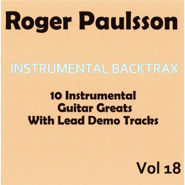 ROGER PAULSSON - INSTRUMENTAL BACKTRAX VOL 18 - CD
