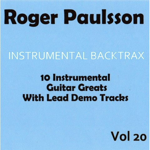 ROGER PAULSSON - INSTRUMENTAL BACKTRAX VOL 20 - CD WITH TABS