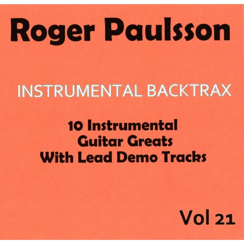 ROGER PAULSSON - INSTRUMENTAL BACKTRAX VOL 21 - CD WITH TABS
