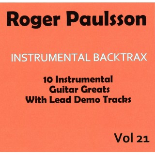 ROGER PAULSSON - INSTRUMENTAL BACKTRAX VOL 21 - CD