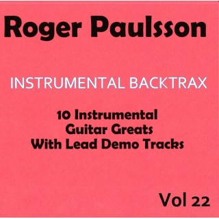 ROGER PAULSSON - INSTRUMENTAL BACKTRAX VOL 22 - CD