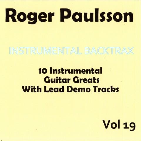 ROGER PAULSSON - INSTRUMENTAL BACKTRAX VOL 19 - CD BACKING TRACK