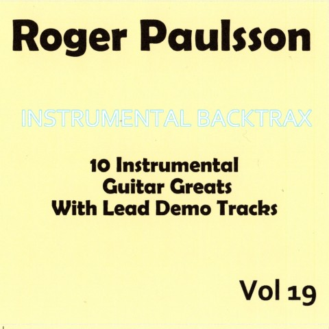 ROGER PAULSSON - INSTRUMENTAL BACKTRAX VOL 19 - CD WITH TABS