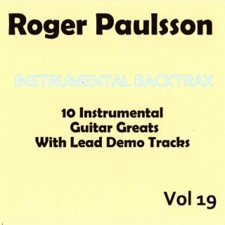 ROGER PAULSSON - INSTRUMENTAL BACKTRAX VOL 19 - CD
