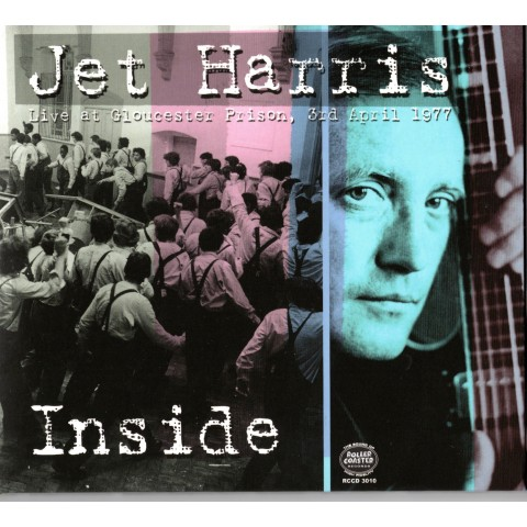 JET HARRIS - INSIDE - LIVE AT GLOUCESTER PRISON, 1977 - CD