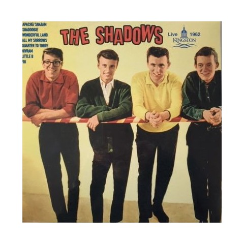 "THE SHADOWS – LIVE AT KINGSTON – VINYL 10"" IMPORT LP"