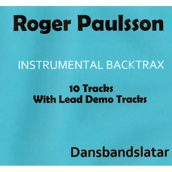 ROGER PAULSSON - DANSBANDSLATAR - BACKING TRACK CD