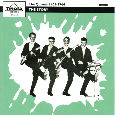 THE QUIVERS - THE STORY   1961 - 1964 - IMPORT CD - TRIOLA