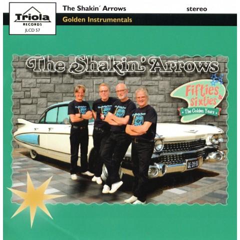 THE SHAKIN ARROWS - GOLDEN INSTRUMENTALS - CD IMPORT - TRIOLA