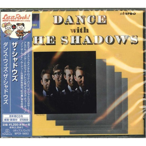 THE SHADOWS - DANCE WITH THE SHADOWS - JAPANESE IMPORT CD