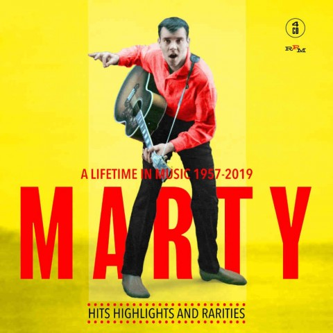 MARTY WILDE: A LIFETIME IN MUSIC 1957 2019 - 4CD