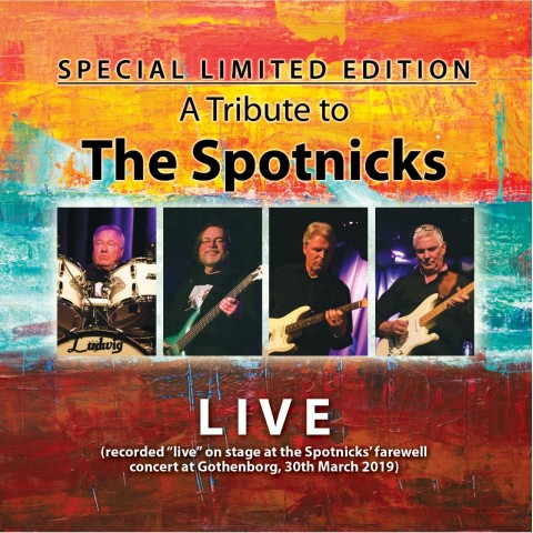 TRIBUTE TO THE SPOTNICKS - LIVE - IMPORT - CD
