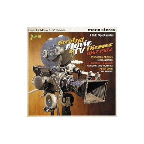 GREAT HIT MOVIE & TV THEMES - 57 - 62  CD