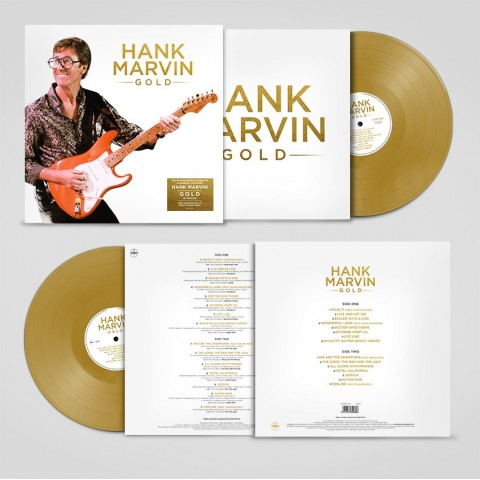 HANK MARVIN - GOLD - LP GOLD VINYL