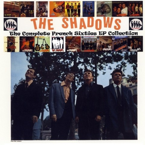 THE SHADOWS - COMPLETE FRENCH SIXTIES EP COLLECTION - 3 CD SET