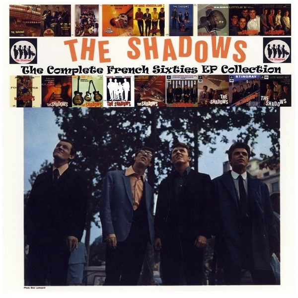 THE SHADOWS - COMPLETE FRENCH SIXTIES EP COLLECTION - 4 CD SET