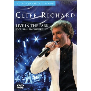 DVD - CLIFF RICHARD - LIVE IN THE PARK