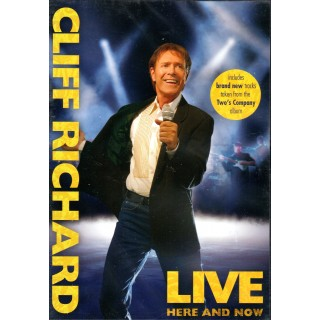 DVD - CLIFF RICHARD - HERE AND NOW (Cliff in Concert 2006)