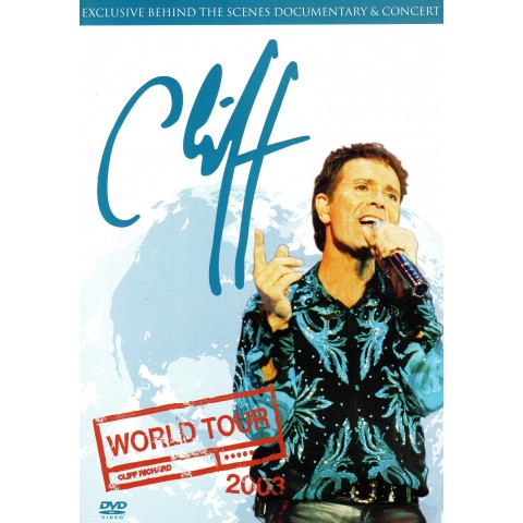 "CLIFF RICHARD - ""WORLD TOUR 2003"" DVD"