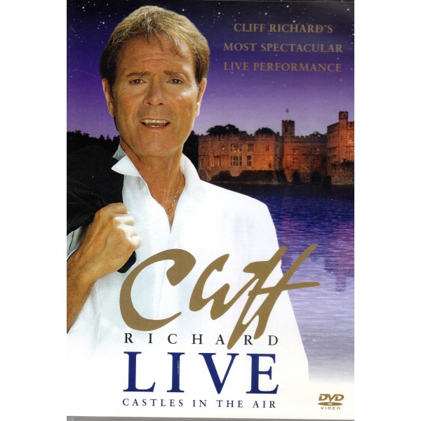 DVD - CLIFF RICHARD - CLIFF RICHARD LIVE - CASTLES IN THE AIR