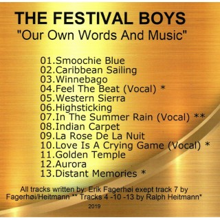 THE FESTIVAL BOYS - OUR OWN WORDS AND MUSIC - IMPORT CD