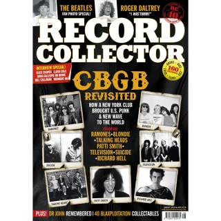 RECORD COLLECTOR - AUG - HANK MARVIN