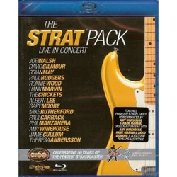 THE STRAT PACK IN CONCERT - BLU-RAY - VARIOUS INCLUDING HANK AND BEN MARVIN