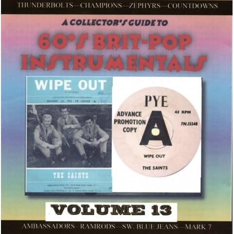 60'S BRIT POP INSTRUMENTALS VOL 13 - CD