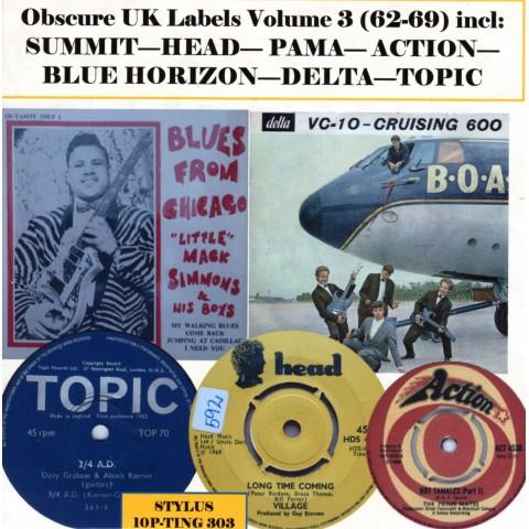 OBSCURE UK LABELS VOL 3 - 1962 - 1969 STYLUS - CD
