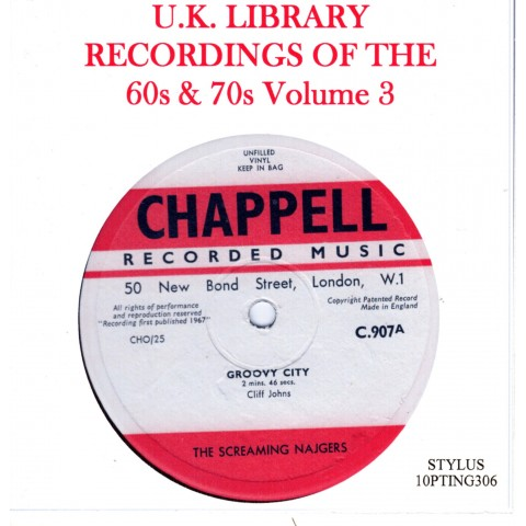 UK LIBRARY RECORDINGS OF THE 60s & 70s Vol 3 - 2 CD - STYLUS