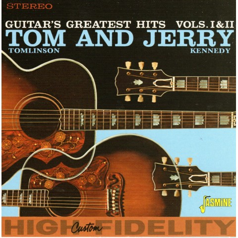 TOM AND JERRY - GUITAR'S GREATEST HITS VOLS 1 AND 2 CD