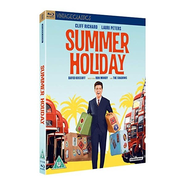 CLIFF RICHARD - SUMMER HOLIDAY - BLURAY
