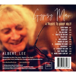 ALBERT LEE - TRIBUTE TO BUDDY HOLLY - CD