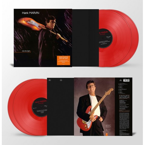 HANK MARVIN - INTO THE LIGHT - DOUBLE RED VINYL