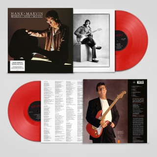 HANK MARVIN - WORDS & MUSIC - RED VINYL