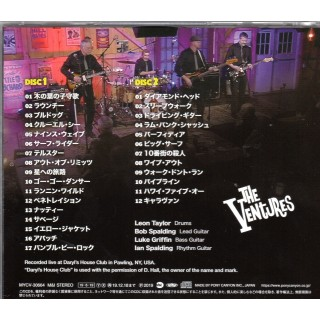 THE VENTURES - LIVE AT DARYLS - 2CD JAPANESE IMPORT
