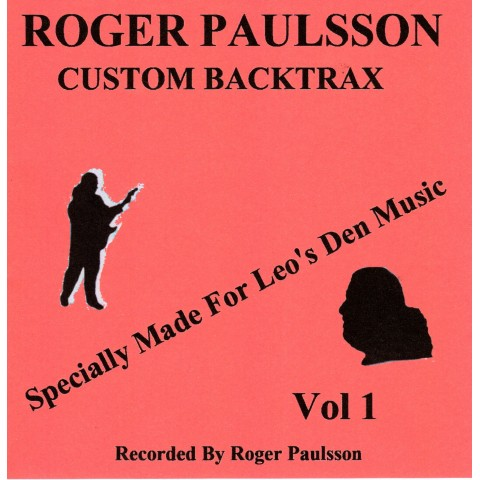 ROGER PAULSSON - CUSTOM BACKTRAX VOL.1 - Backing Track CD WITH Tabs